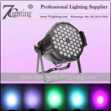 54PCS 3watt RGB Tri-Color LED PAR Lights DJ Lighting Equipments