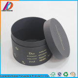 Round Shaped Black Exquisite Paper Cosmetic/Perfume Packaging Box