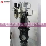 Pneumatic Operated Knife Gate Valve with ISO Ce API Certificates