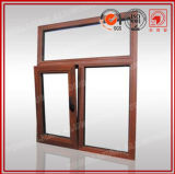 Wooden Patern Aluminum Tilt & Turn Window in Standard 2047
