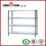 Four Tier Standing Modular Shelving