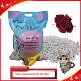 10L Bentonite Cat Litter with Rose Scent