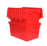 Plastic Storage Shipping Container with Lid for Moving