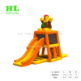 Bear Theme Air Tight Floating Inflatable Water Game