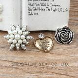 Dimensional Full Diamond Pendant Necklace Rhinestone Costume Retro Jewelry