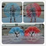 Adult Size Bubble Football, Half Color TPU Bubble Soccer Ball D5101