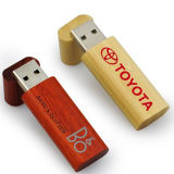 Lanyard Promotion Gift Wooden USB Flash Drive