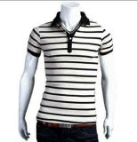 Men′s Golf T-Shirt with Soft Texture and Fashionable Design