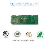 94V0 PCB for Mobile Phone with Green Solder Mask