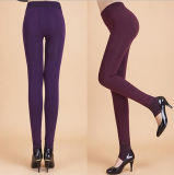 Hot Sale High Waist Girls Spandex Winter Leggings (50246)