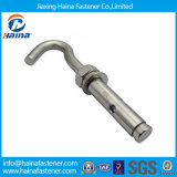 Stainless Steel J Anchor Bolt, L/J Type Hook Anchor Bolt