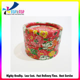 Handmade Paper Printing Make up Cylinder Box