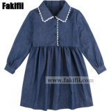 Baby Apparel Fashion Girl Party Dress Children Wears Wholesale Kids Clothes School Uniform Woven Garment