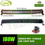 180W 30inch CREE Spot/Flood Beam Curved LED Light Bar