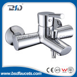 Single Lever Chrome Plated Wall Mounted Bath Shower Faucet