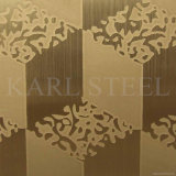 High Quality 304 Stainless Steel Kem002 Embossed Sheet
