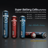 Super Rechargeable LiFePO4 Lithium 18650 Battery Cells