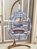 Outdoor Garden Patio Furniture Plastic Swing Chair with Tassles