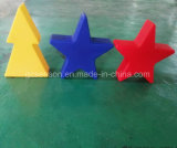 Star/Love Shape Plastic Light with Rotational Molding Manufacturer (SS-2)