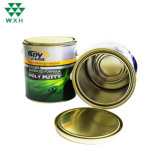 Round Tin Can Package for Ink and Chemical Products with Clip