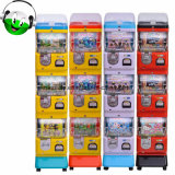 Three Layer Coin and Token Operated Toy Capsule Vending Machine