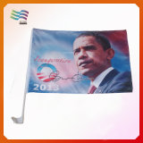 Custom Cheap Polyester 30*45cm Car Window Flag for Election (HY1123)