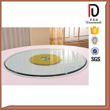 2015 New Style Rotating Tempered Glass Lazy Susan