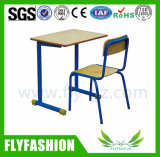 High School Furniture Single Desk and Chair for Sell (SF-26S)