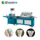 Fully Automatic Biodegradable Rice Paper Drinking Straw Forming Winding Printing Making Machine Factory Manufacturing Price in Sale