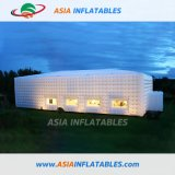 PVC Inflatable Clear Plastic Tent, Clear Cube Tent Wedding Events