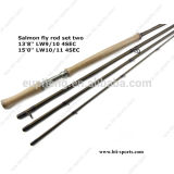 Wholesale Switch Rod with Carbon Blank Double Handle Fly Rod by Customize Design