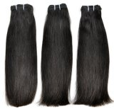 Brazilian Super Double Drawn Virgin Human Hair Weft (Thick Straight)