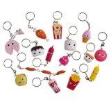 Newest Cute Fairy Dust Plush keychain for Bag/Phone Decoration 8cm Height Soft Fur Hair Animal Toy