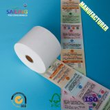 Wholesale Ticket Adhesive Bond Stock Thermal Roll Paper