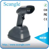 Long Distance Laser Handheld Barcode Scanner with Charging Cradle