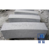 Hot Sell and Cheap G654 Granite Kerbstone for Garden and Road with Popular Types Like Flamed Surface and Polished Surface etc.