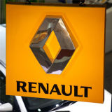 Designed Beautiful Backlit Outdoor 3D Car Logo Sign