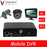 4 Channels of Real Time D1 Video and Audio Recording