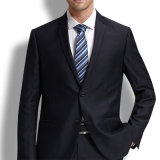 Slim Fit 65% Polyester 35% Viscose Solid Formal Men Suit