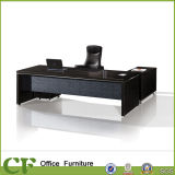 Luxury Itlian Style Office Melamine CEO Desk with Elegant Design