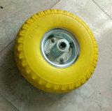 Soft Light High Elastic PU Foam Rubber Wheel (10*3.50-4)