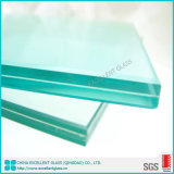 Construction Glass Curtain Wall 15.52mm 11.76mm Laminated Glass Price
