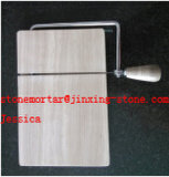 Wood Patterns Stone Cheese Slicers /Marble Cheese Cutter /Marble Board with Extra Wires