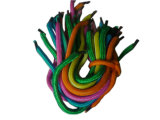 Polyester Handle Rope with Black Plastic Tip