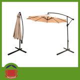 Red Brown Color Side Pole Garden Umbrella