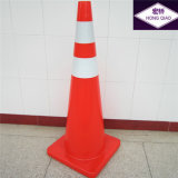 "36"" Solid Orange PVC Road Cones"