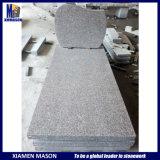 France Simple Granite Tombstone