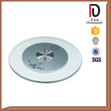 Unbreakable High Quality Round Clear Glass Lazy Susan (BR-BL014)