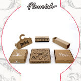 Ex-Work Best Price Many Shapes Designs Corrugated Paper Gift Packaging Box for Clothes/ Watch/ Cosmetics/ Fast Food