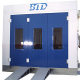 Well-Equioed Completely Automatic Large/Small User-Friendly Powder Spray Painting Room